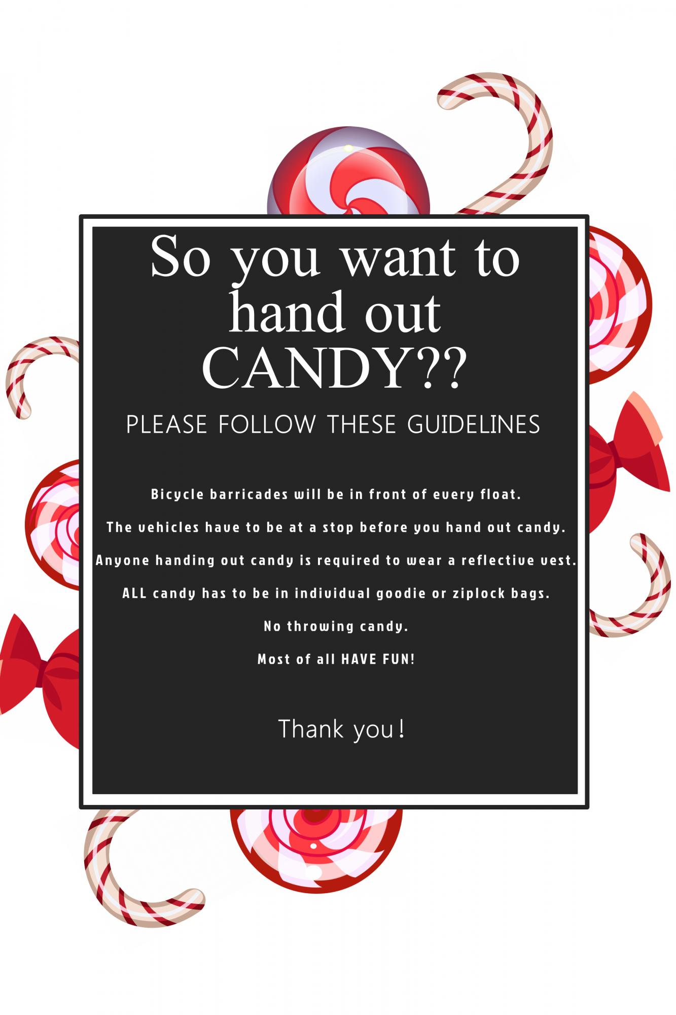 candy guidelines