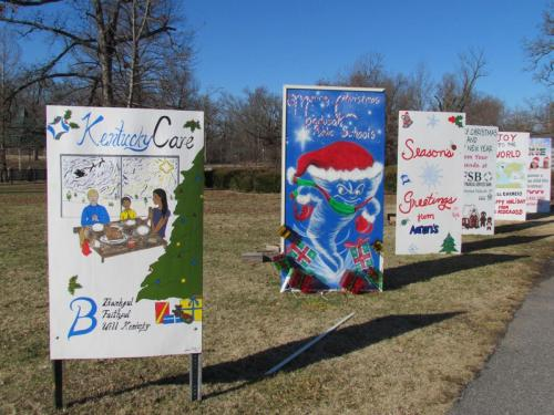 Christmas Cards in the Park
