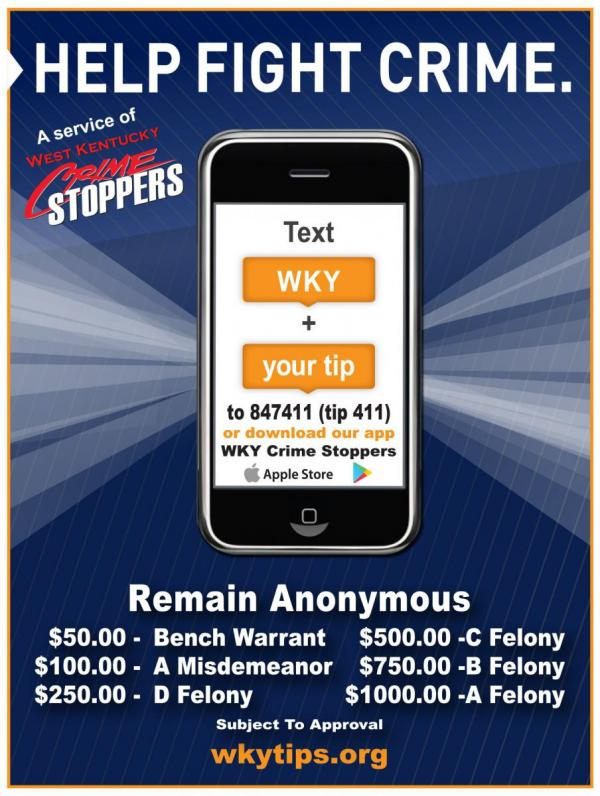 Crime Stoppers flyer