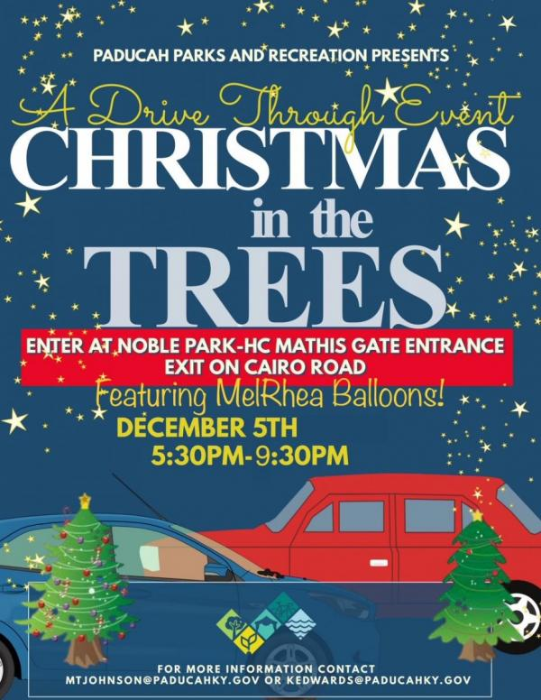 2020 Christmas in the Trees Flyer