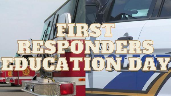 First Responders Education Day graphic