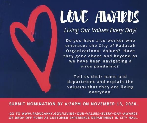 2020 Living Our Values Every Day Awards