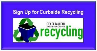 Sign up for Curbside Recycling
