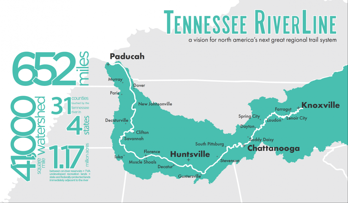 Tennessee RiverLine Map