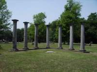 Columns at Mount Kenton Cemetery