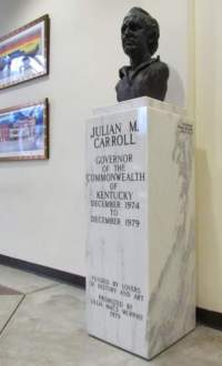 Julian Carroll Monument